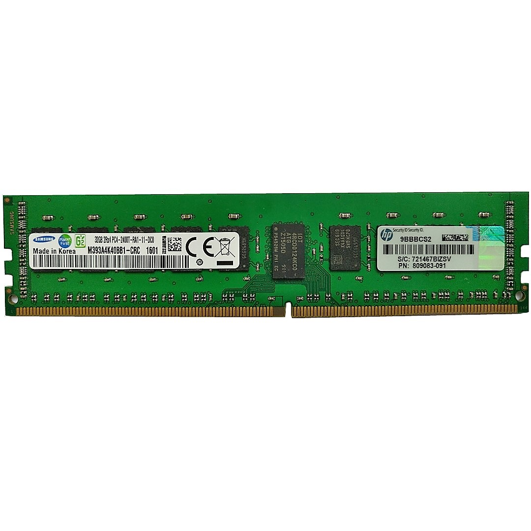 708641-B21 HP 16GB (1x16GB) Dual Rank x4 PC3-14900R (DDR3-1866)